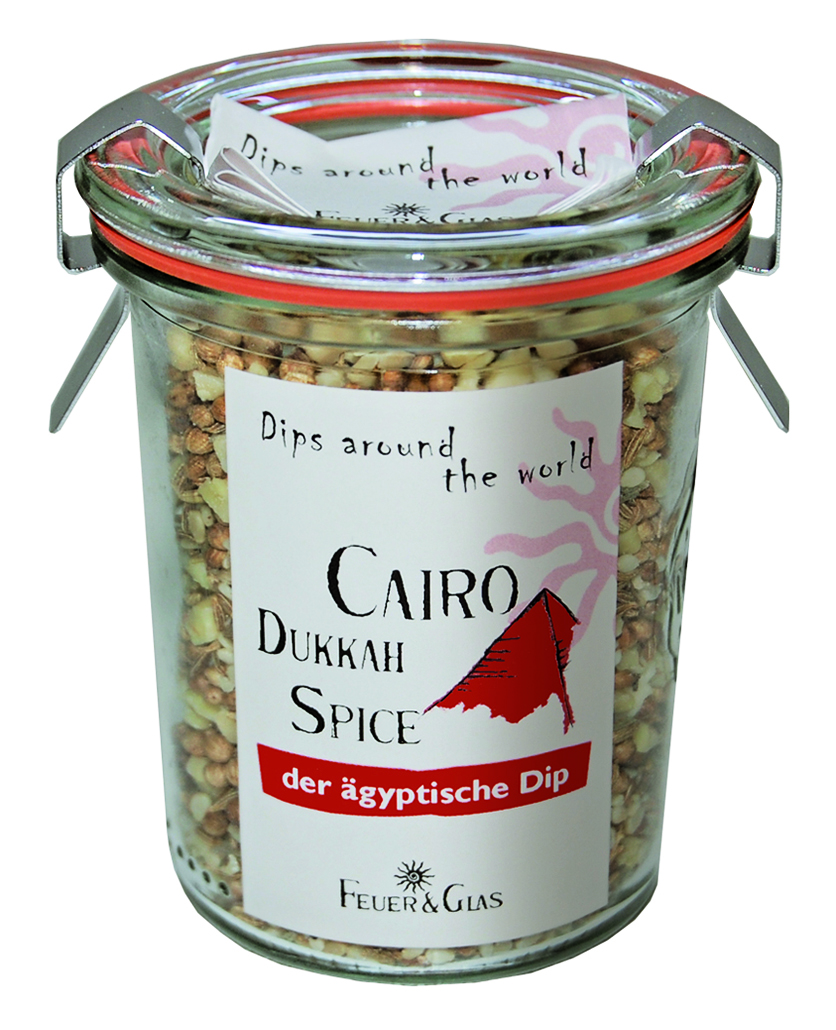 Cairo Dukkah Spice - Dips around the World