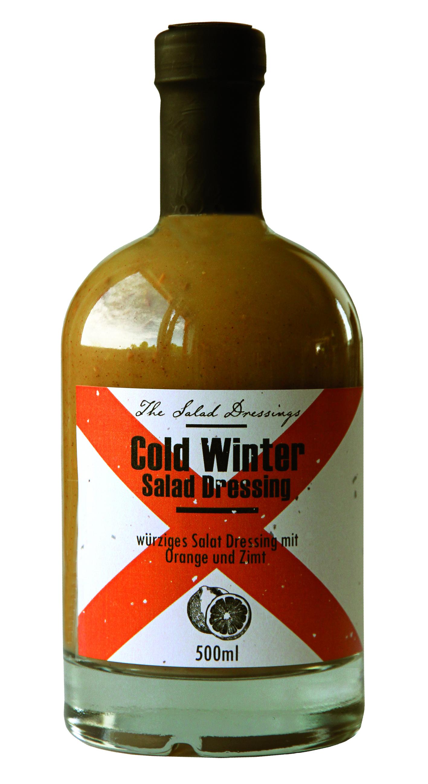 Cold Winter Salad Dressing  500 ml