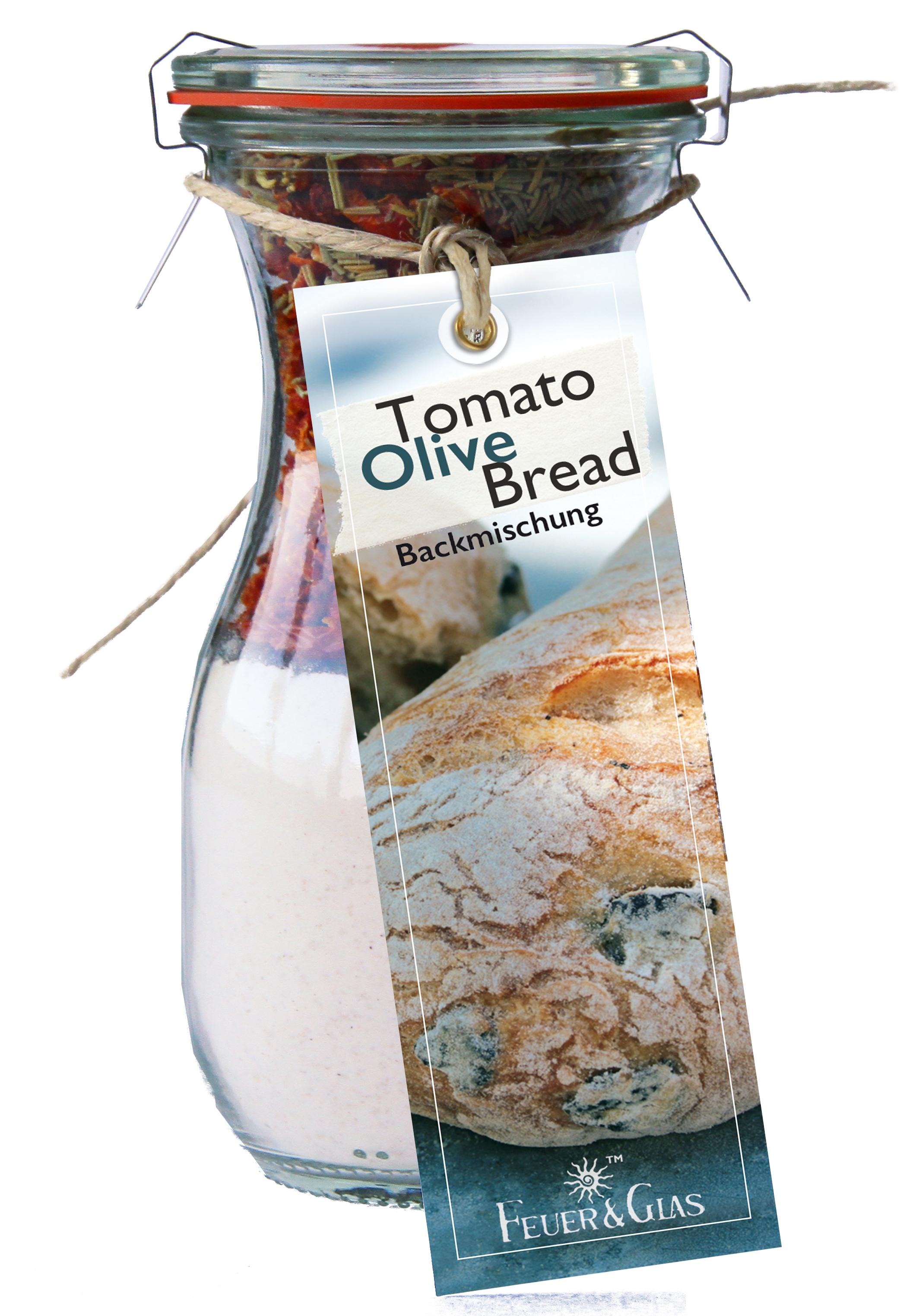 Tomato Olive Bread  Mini ( 250 ml)