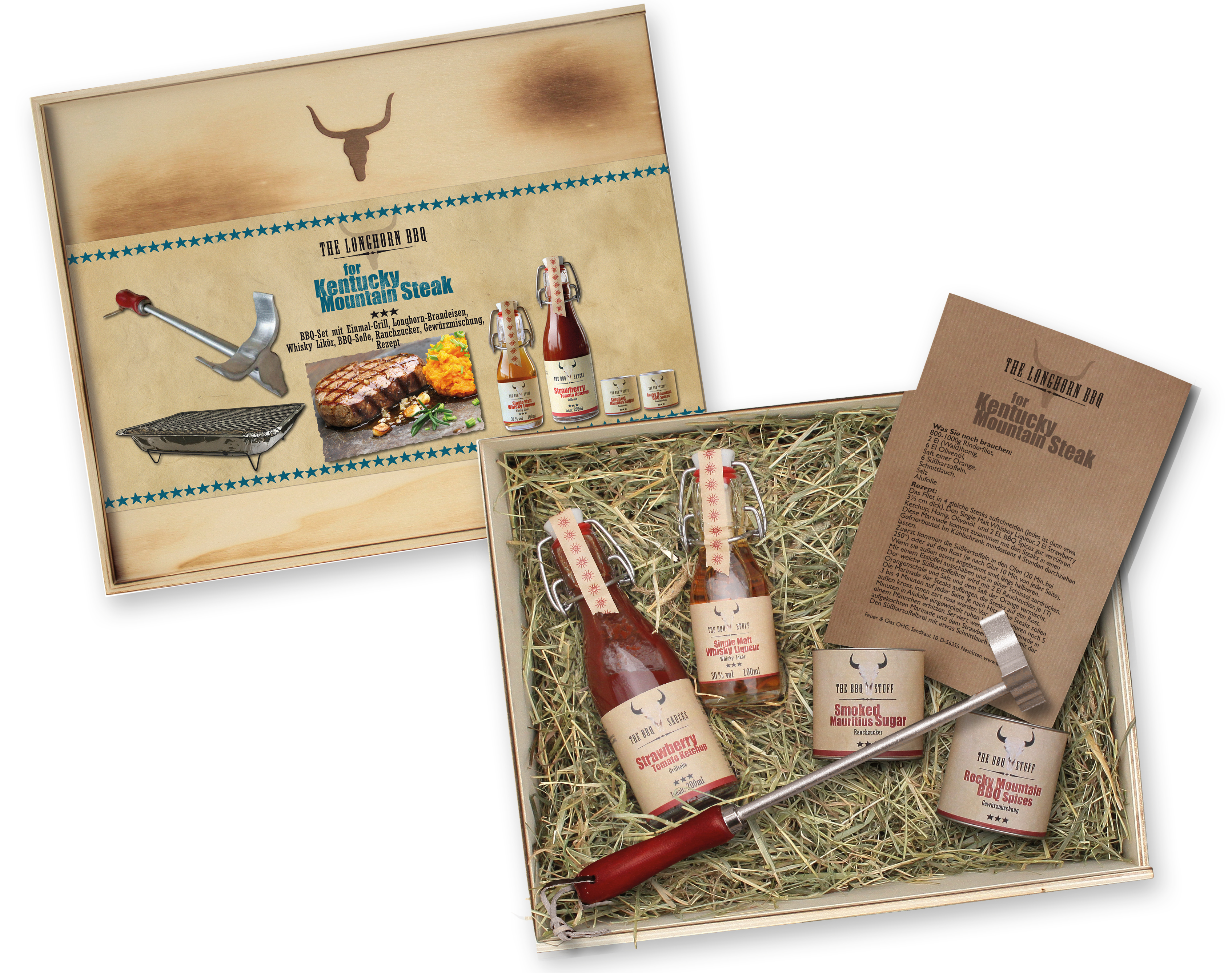 The Longhorn BBQ Kit - Kentucky Mountain Steak
