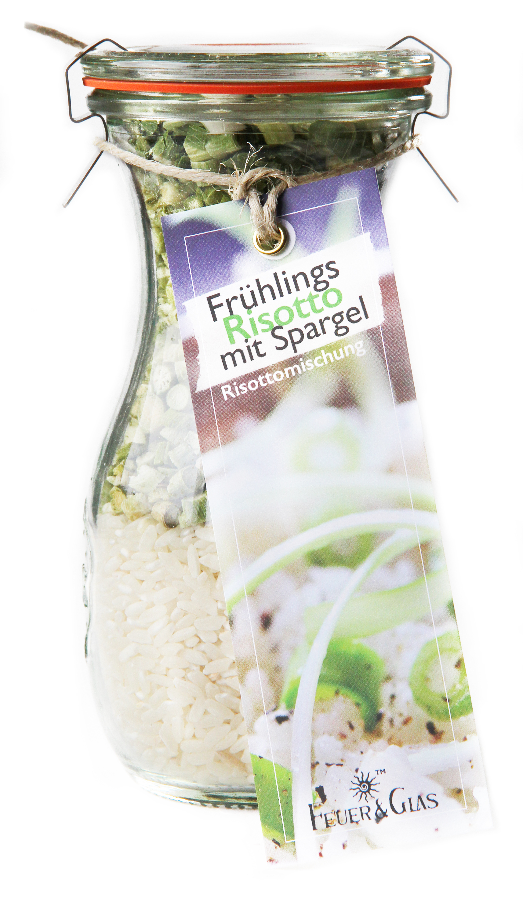 Frühlings Risotto mit Spargel    Mini ( 250 ml)