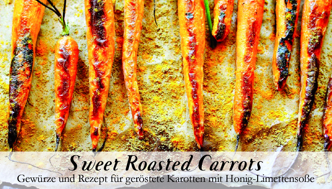 Sweet roasted Carrots