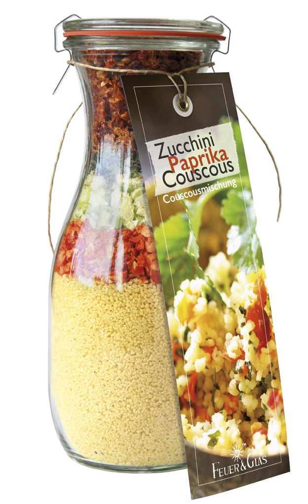 Zucchini Paprika Couscous Mini (250ml)