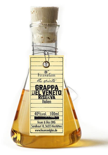 Grappa del Veneto Riserva, 100 ml, 40%  VOL