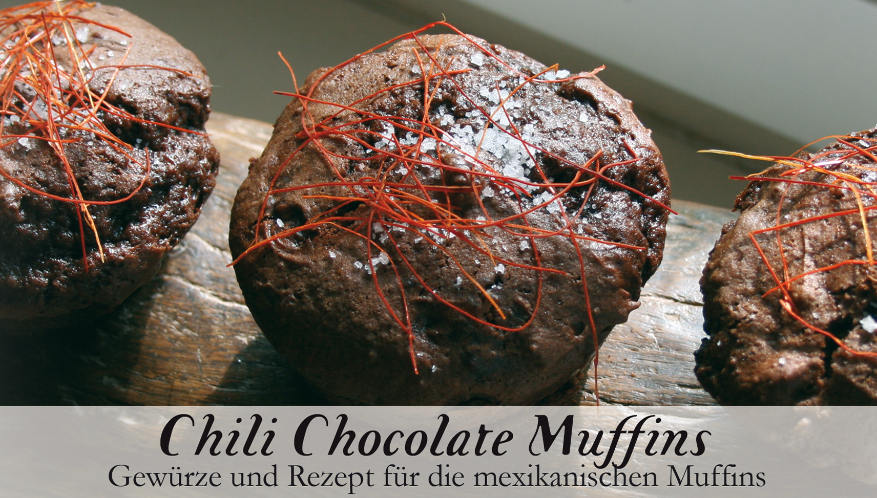 Chilli Chocolate Muffins-Gewürzkasten