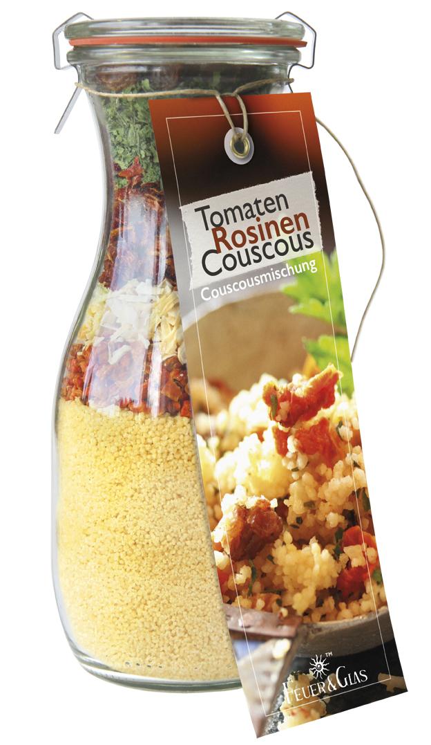 Tomaten Rosinen Couscous