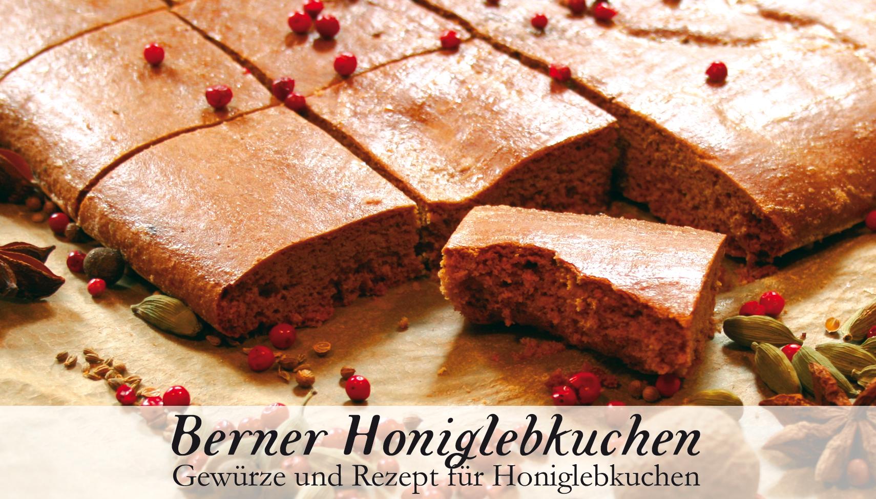 Berner Honiglebkuchen