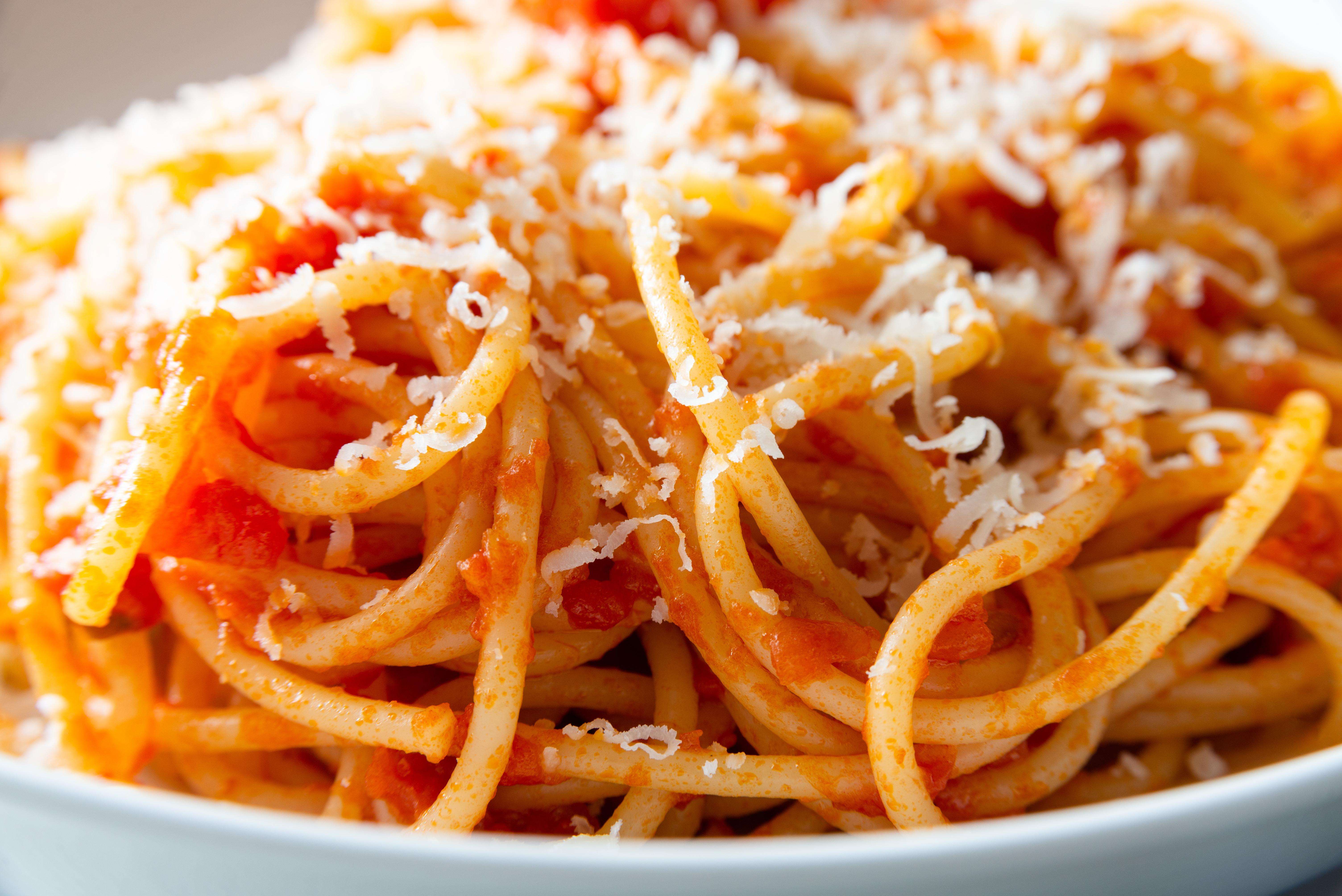 Spaghetti & Pomo-Parmigiano