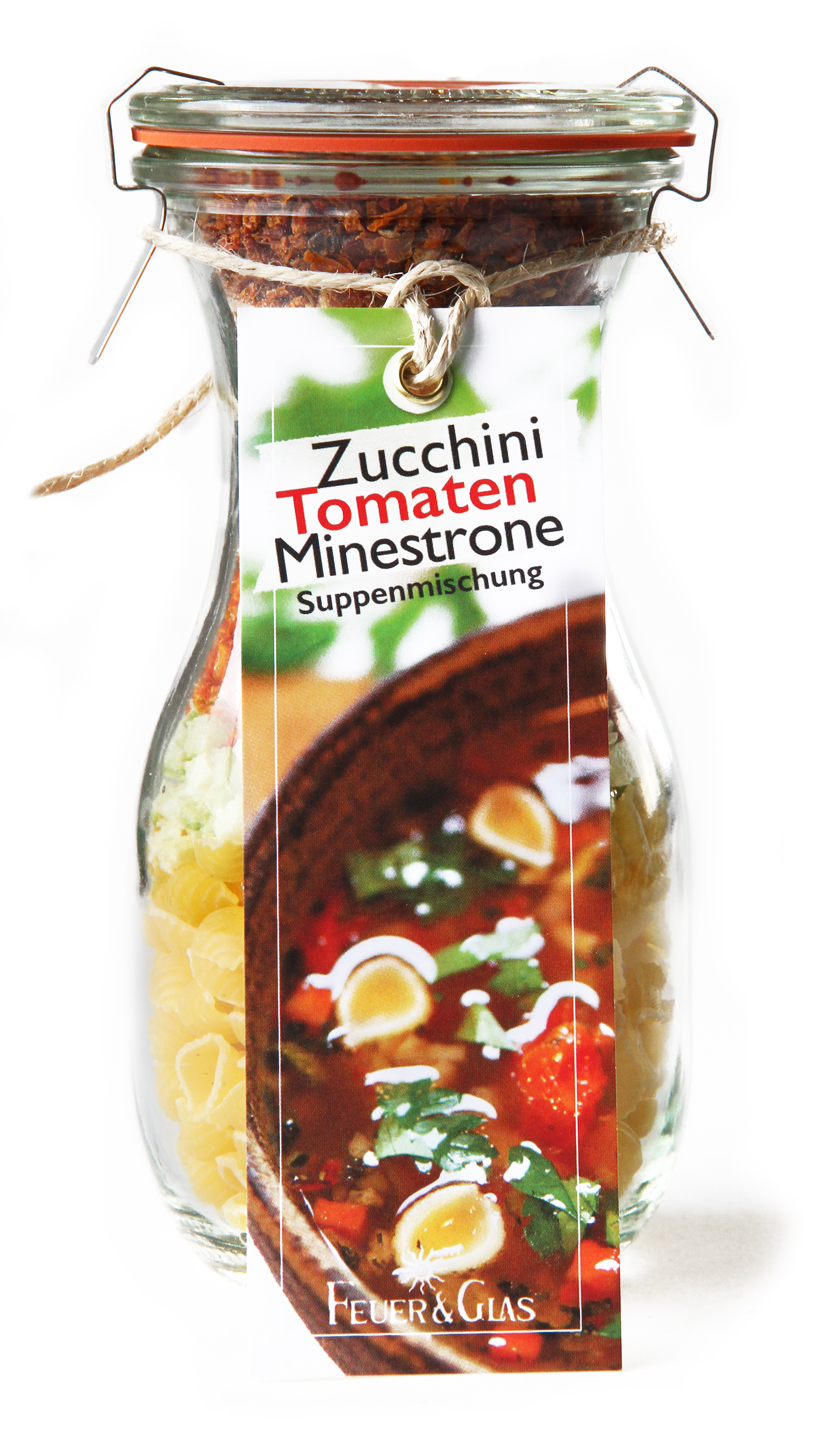 Zucchini Tomaten Minestrone Mini (250 ml)