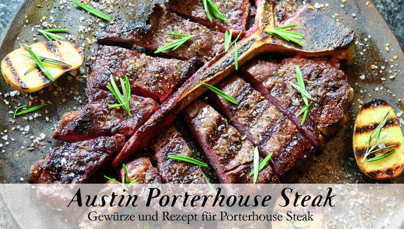 Austin Porterhouse Steak-Gewürzkasten