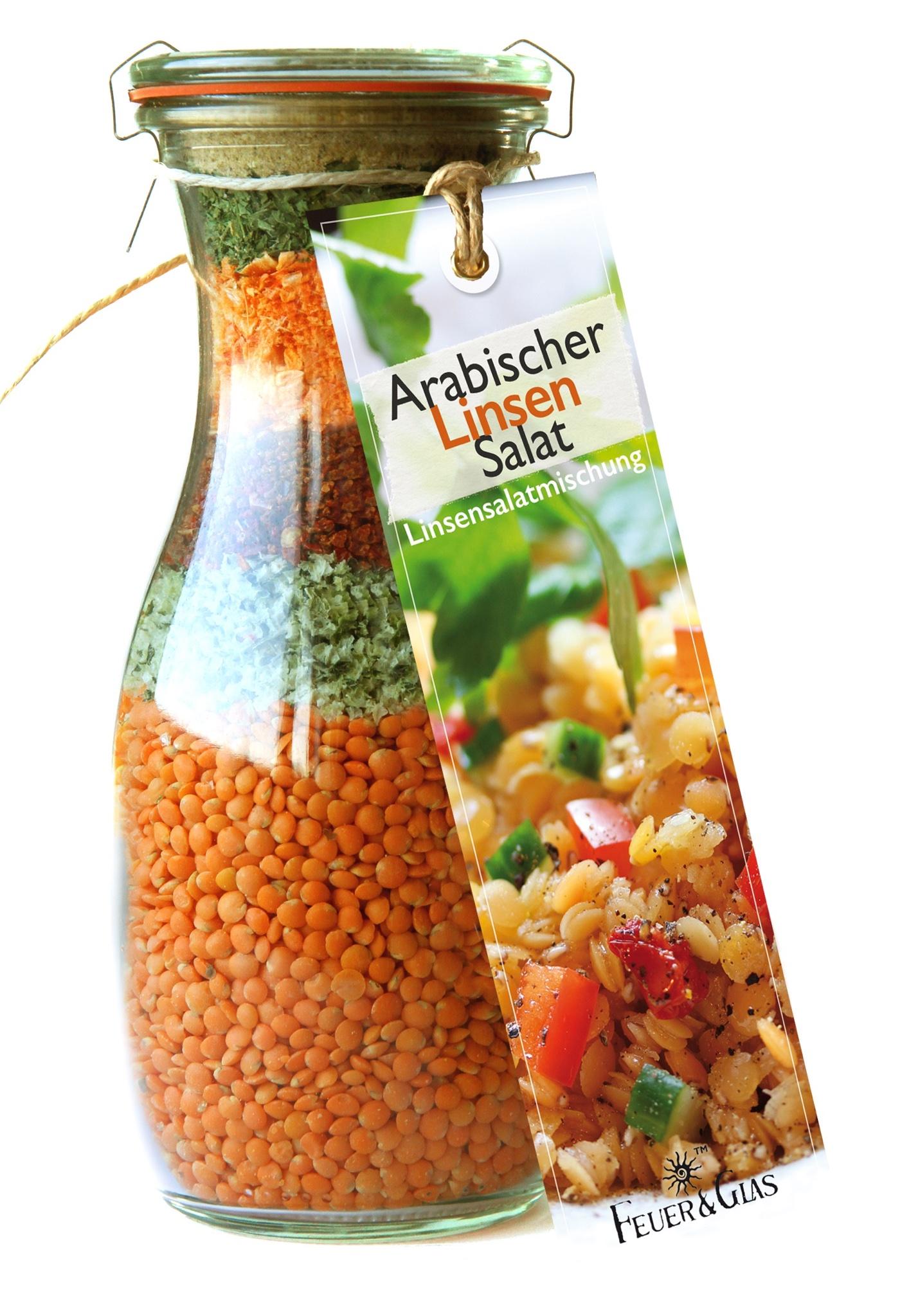 Arabischer Linsen Salat