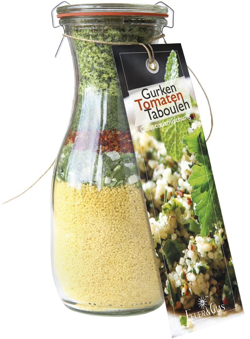 Gurken Tomaten Tabouleh
