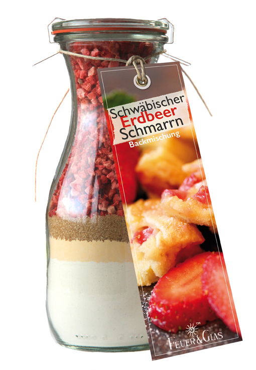 Schwäbischer Erdbeer Schmarrn