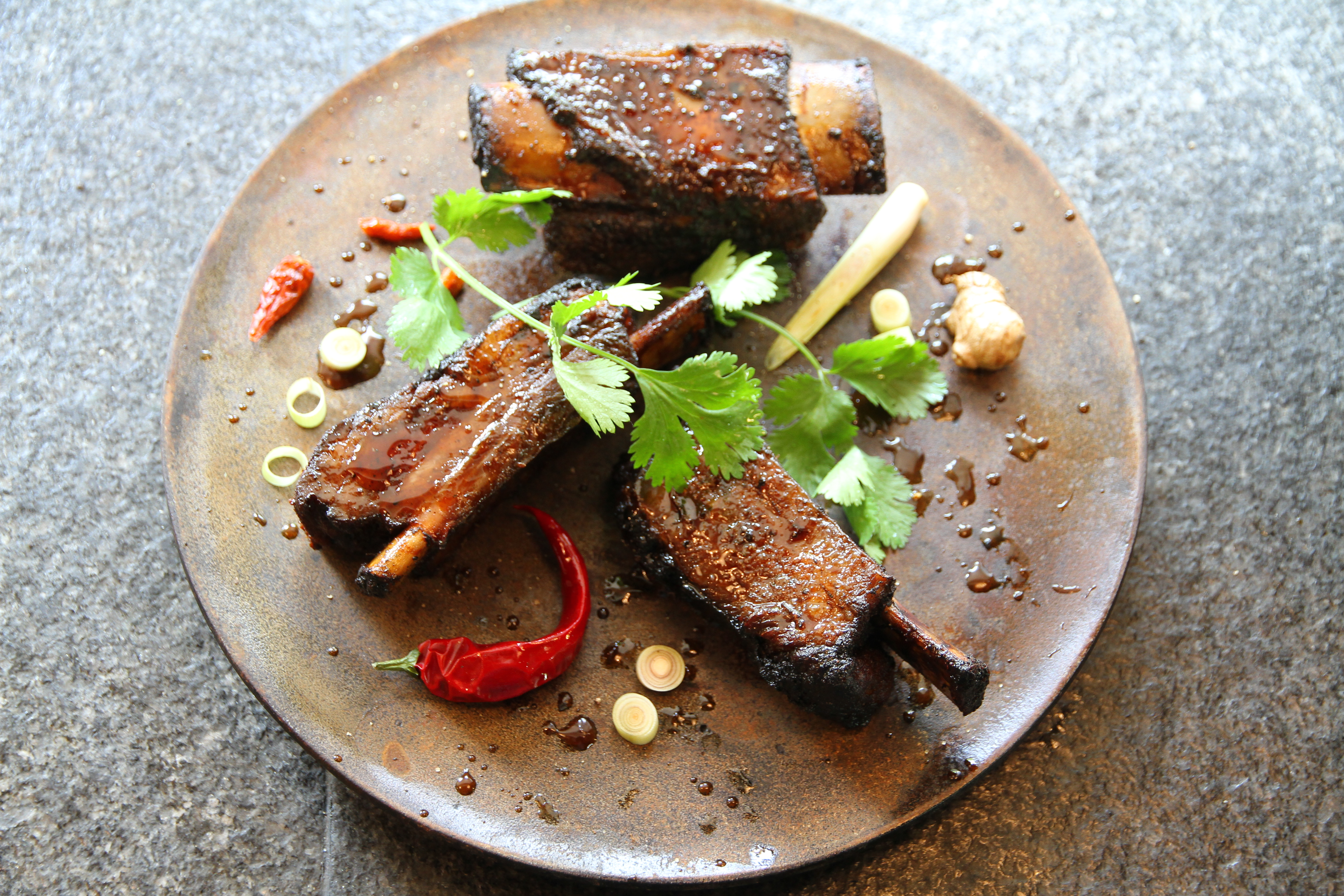 Soy Glazed Spare Ribs