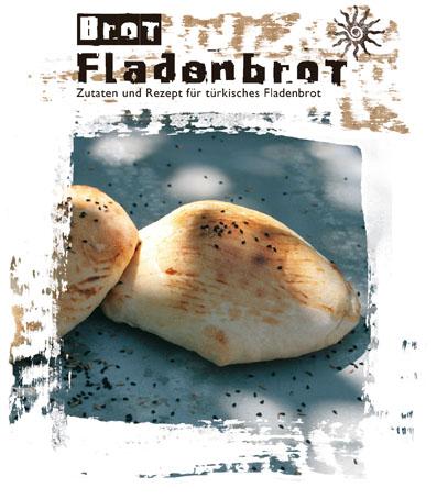 Fladenbrot - Backmischung für türkisches Fladenbrot mit Schwarzkümmel