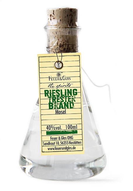 Riesling Trester Brand, 100 ml, 40%  VOL
