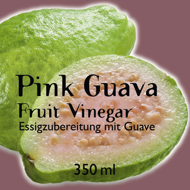 Pink Guava Fruit Vinegar