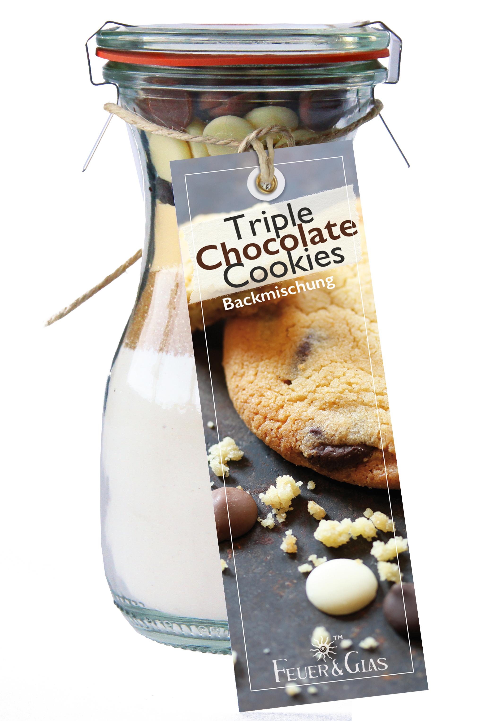 Triple Chocolate Cookies Mini (250 ml)