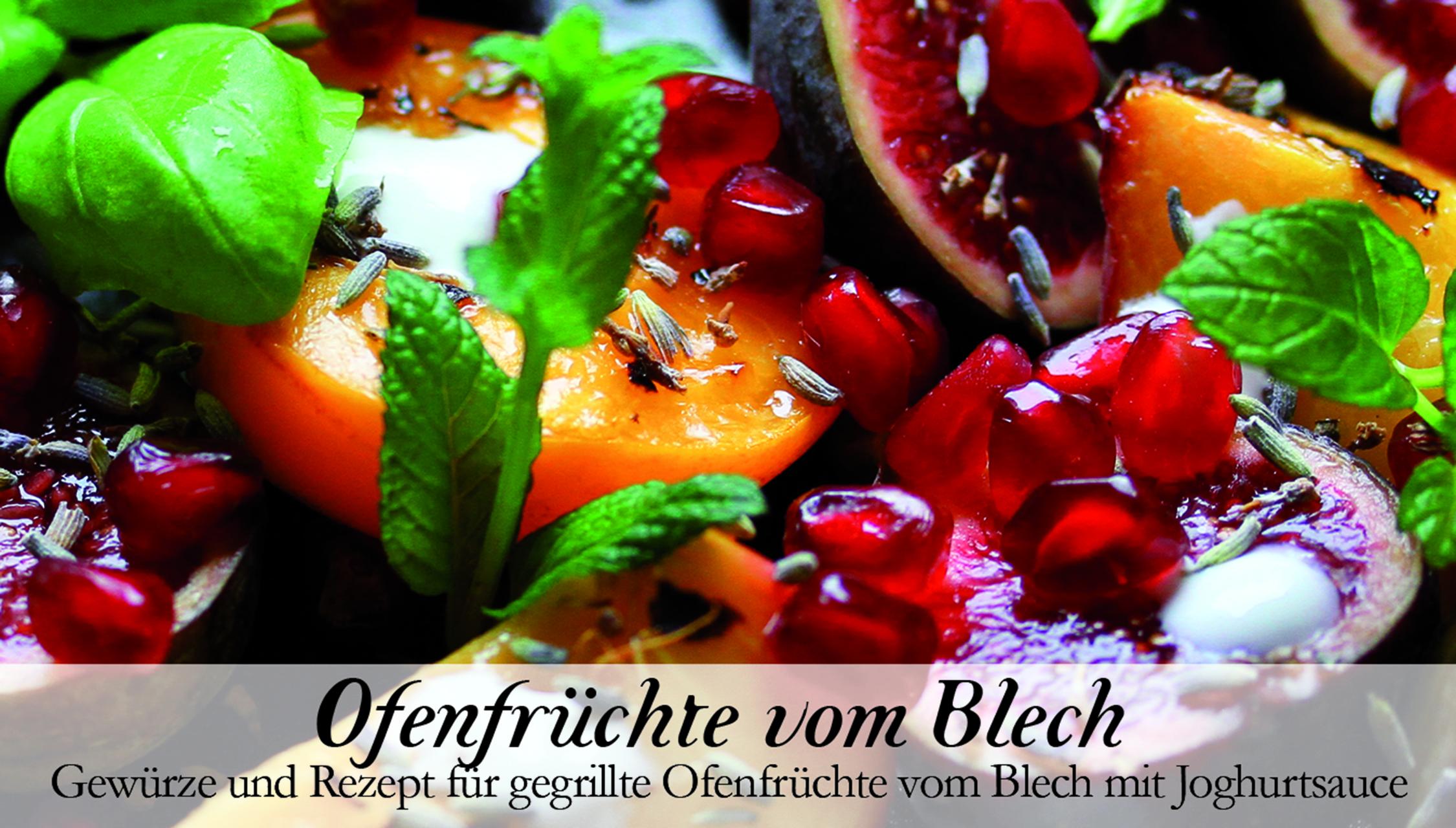 Ofenfrüchte vom Blech